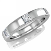 Обручальное кольцо с бриллиантами SL-348-061 весом 5 г  стоимостью 75000 р.
